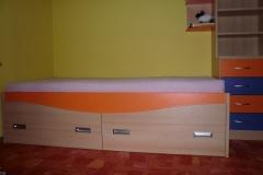 Dětské postele s úložným porstorem