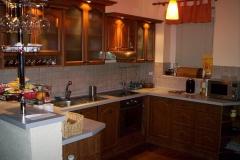 Rustikální kuchyň
